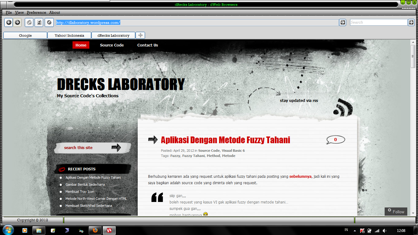 dLaboratory | My Source Code's Collections